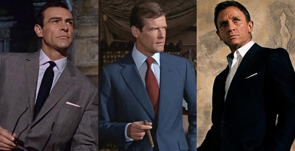 James Bond inspired suits