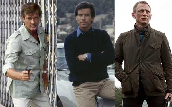 affordable James Bond inspired casual style