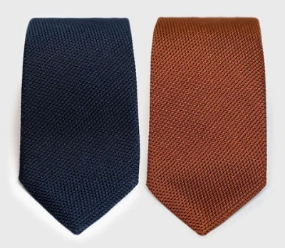 James Bond style grenadine ties