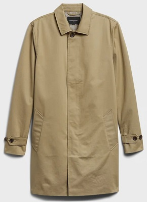 Steve McQueen Bullitt Rain Coat affordable alternative
