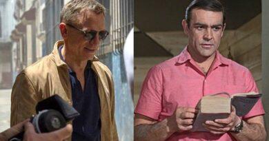 Daniel Craig Sean Connery James Bond