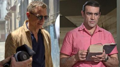 Daniel Craig Sean Connery James Bond