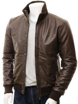 Affordable Daniel Craig leather jacket