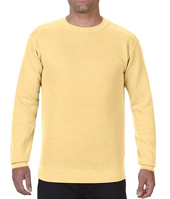 affordable Steve McQueen yellow sweatshirt