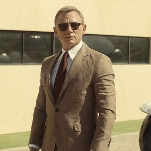 Daniel Craig James Bond SPECTRE Brunello Cucinelli Linen Blend Blazer