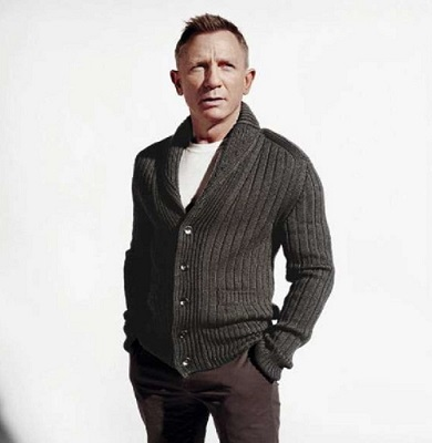 Daniel Craig Tom Ford Cardigan Greg Williams