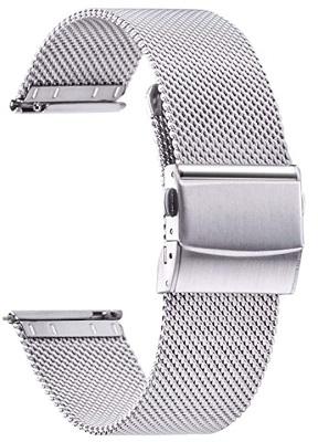 budget James Bond No Time To Die watch milanese bracelet