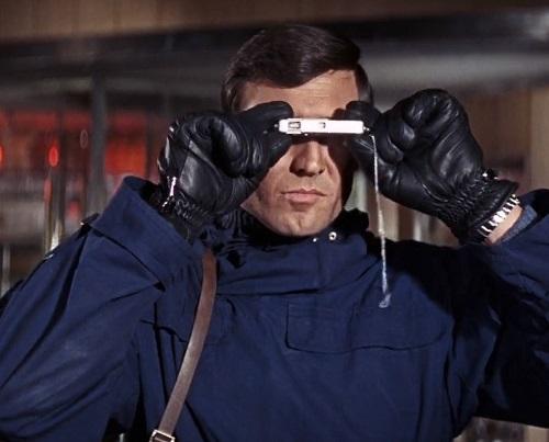 George Lazenby James Bond On Her Majesty's Secret Service blue anorak