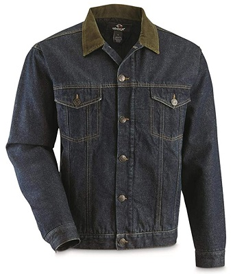 affordable alternative Steve McQueen denim jacket