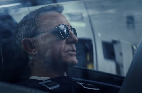 Daniel Craig James Bond No Time To Die Vuarnet Sunglasses