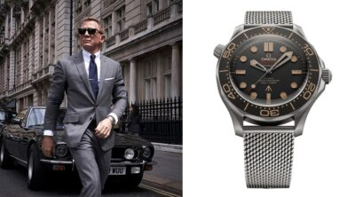 James Bond No Time To Die watch