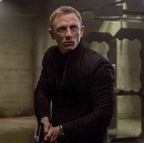 James Bond SPECTRE John Varvatos Suede Jacket