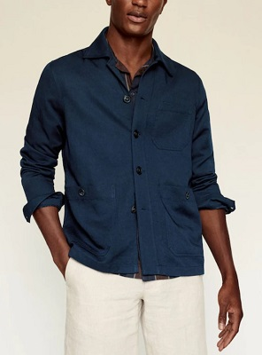 James Bond No Time To Die blue Matera Jacket affordable alternative