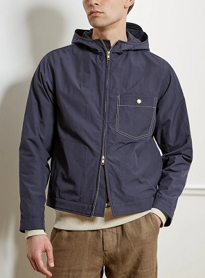 Steve McQueen Thomas Crown Affair spring style windbreaker