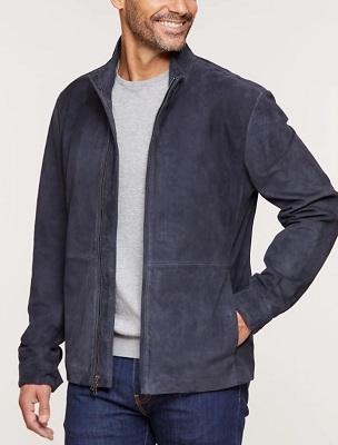 James Bond SPECTRE blue suede jacket affordable alternative