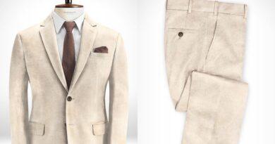 Studio Suits Light Beige Corduroy Suit review