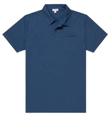 Steve McQueen style blue polo affordable alternative