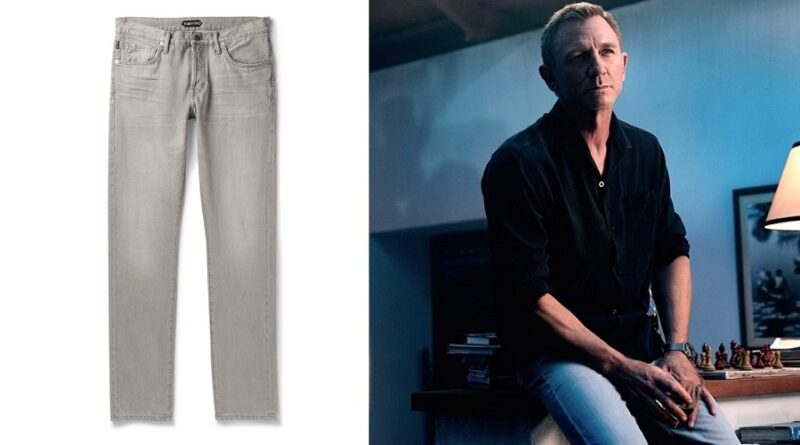 4 ways to wear the James Bond No Time To Die grey jeans