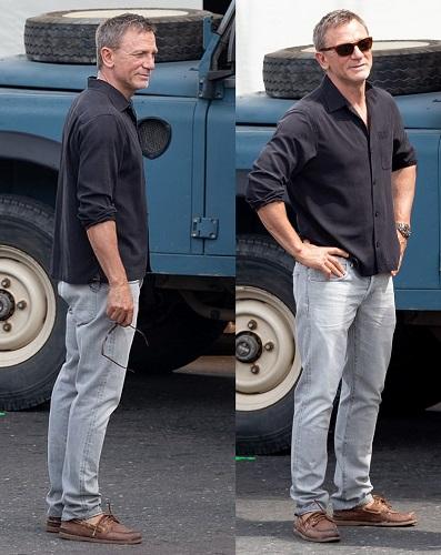 Daniel Craig James Bond No Time To Die Jamaica look
