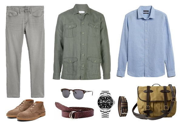 How to wear the James Bond No Time To Die grey jeans