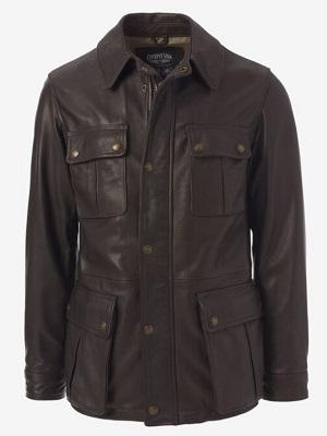 Pierce Brosnan James Bond Tomorrow Never Dies leather jacket budget alternative