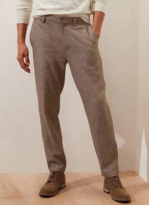 Daniel Craig James Bond Casino Royale linen trousers budget style