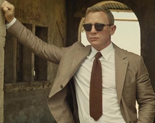Daniel Craig James Bond SPECTRE Morocco outfit