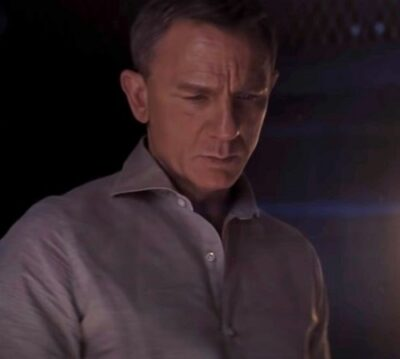 Daniel Craig James Bond No Time To Die Connolly Linen Shirt