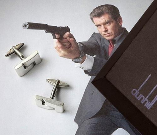 Pierce Brosnan James Bond Die Another Day Dunhill Cufflinks