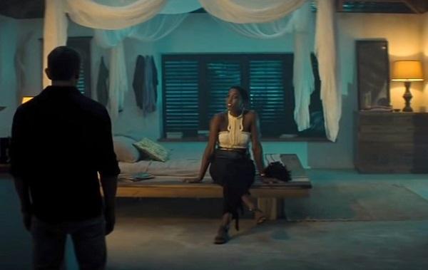 James Bond No Time To Die Jamaica House bedroom