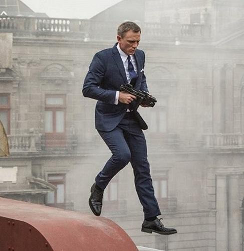Daniel Craig James Bond SPECTRE Mexico City Tom Ford Suit