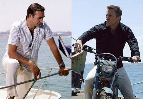 Sean Connery Daniel Craig James Bond spring style