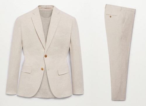 James Bond Linen Suit budget style finds