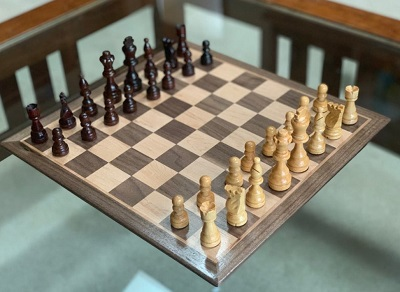 James Bond No Time To Die Jamaica House chess board