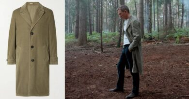 Daniel Craig James Bond No Time To Die Corduroy Coat