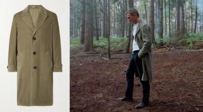 Daniel Craig James Bond No Time To Die Corduroy Coat