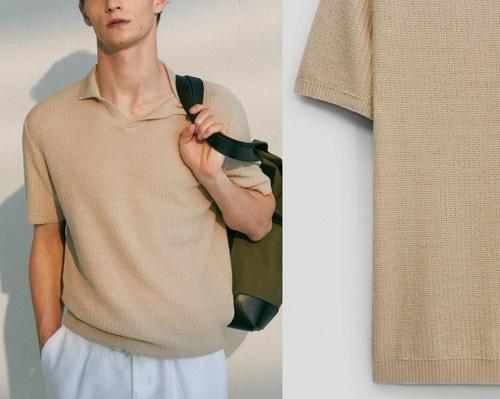 Steve McQueen knit polo affordable alternative