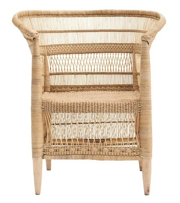 James Bond No Time To Die Jamaica House rattan chair
