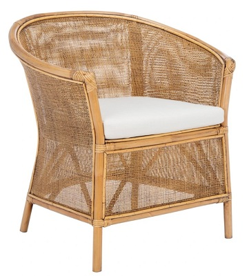 James Bond No Time To Die Jamaica House affordable rattan chair