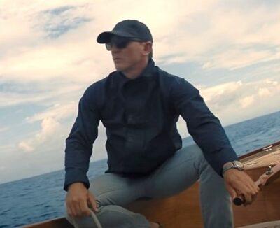 Daniel Craig James Bond No Time To Die baseball cap