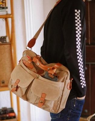 Daniel Craig Belstaff 554 Messenger Bag affordable alternative