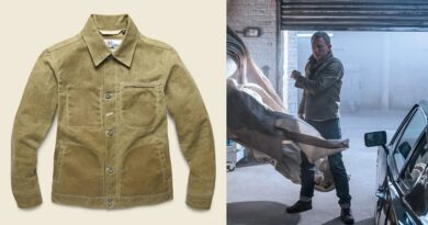No Time To Die James Bond Waxed Trucker Jacket