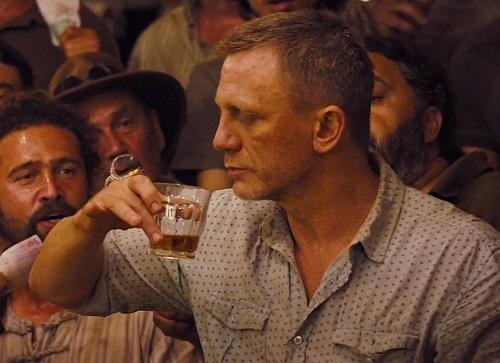 Daniel Craig James Bond Skyfall Enjoying Death Shirt