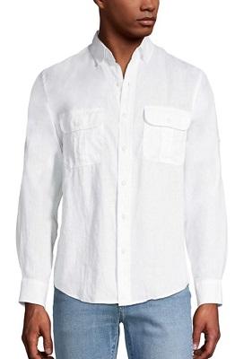 Timothy Dalton James Bond License To Kill white utility shirt affordable alternative