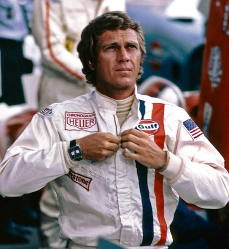 Steve McQueen Le Mans TAG Heuer Monaco watch