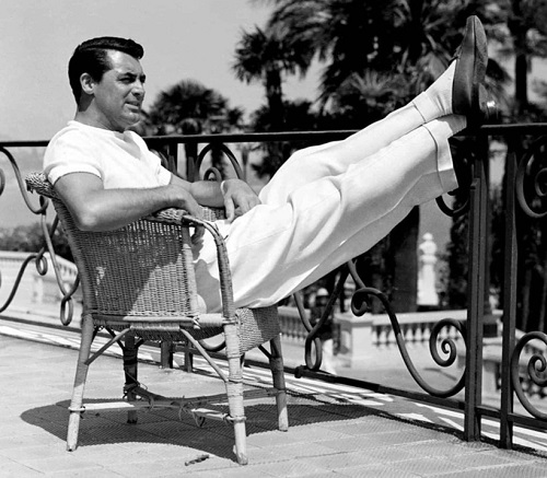 Style Icon Cary Grant casual
