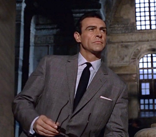 Father's Day Gift Guide for the Bond Fan Grenadine Tie