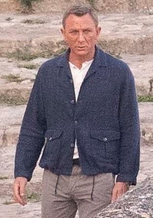 Daniel Craig James Bond No Time To Die Connolly Giubbino Jacket