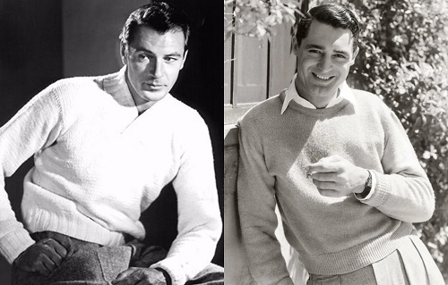 Gary Cooper Cary Grant style icons