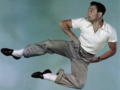 Menswear Summer Style Icon Golden Age of Hollywood Gene Kelly